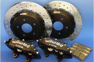 WILWOOD KRZ刹車配套元件328MM+6POT豐田esutima ACR30W/MCR30W