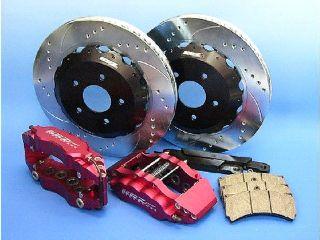 KRZpowerKRZpowerブレーキキット328MM+6POTレッドキャリパー/アウディTT99-04