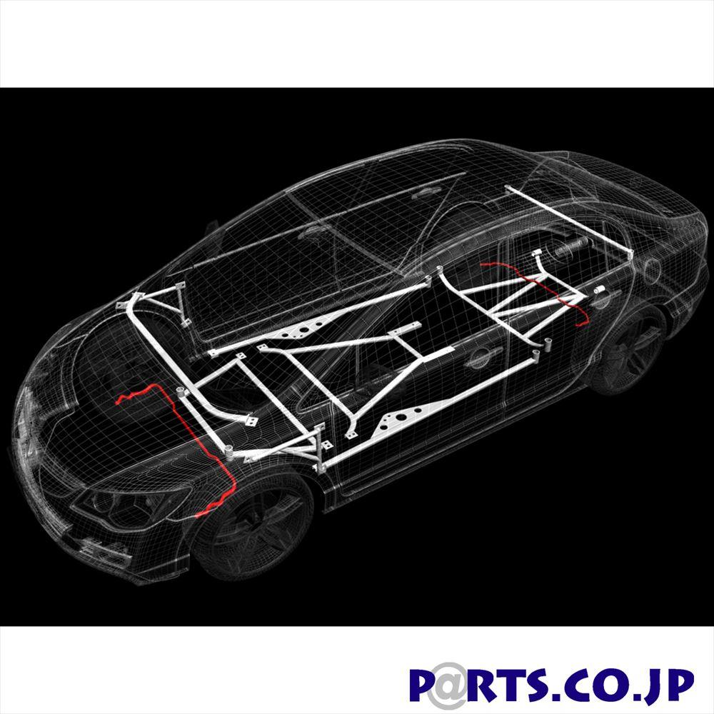 スタビライザー トヨタ ハリアー SXU15W ウルトラレーシング ボディ 補強 剛性パーツ AR19-160 【メーカー保証付】車 ボディ 補強