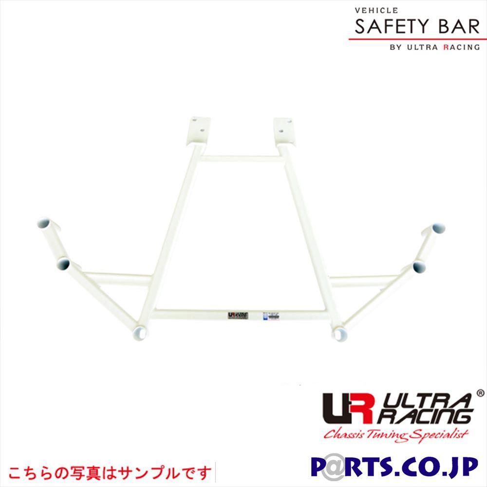 リアメンバーブレース ハマー H2 - ウルトラレーシング ボディ 補強 剛性パーツ RL4-2074 メーカー保証付 車 ボディ 補強