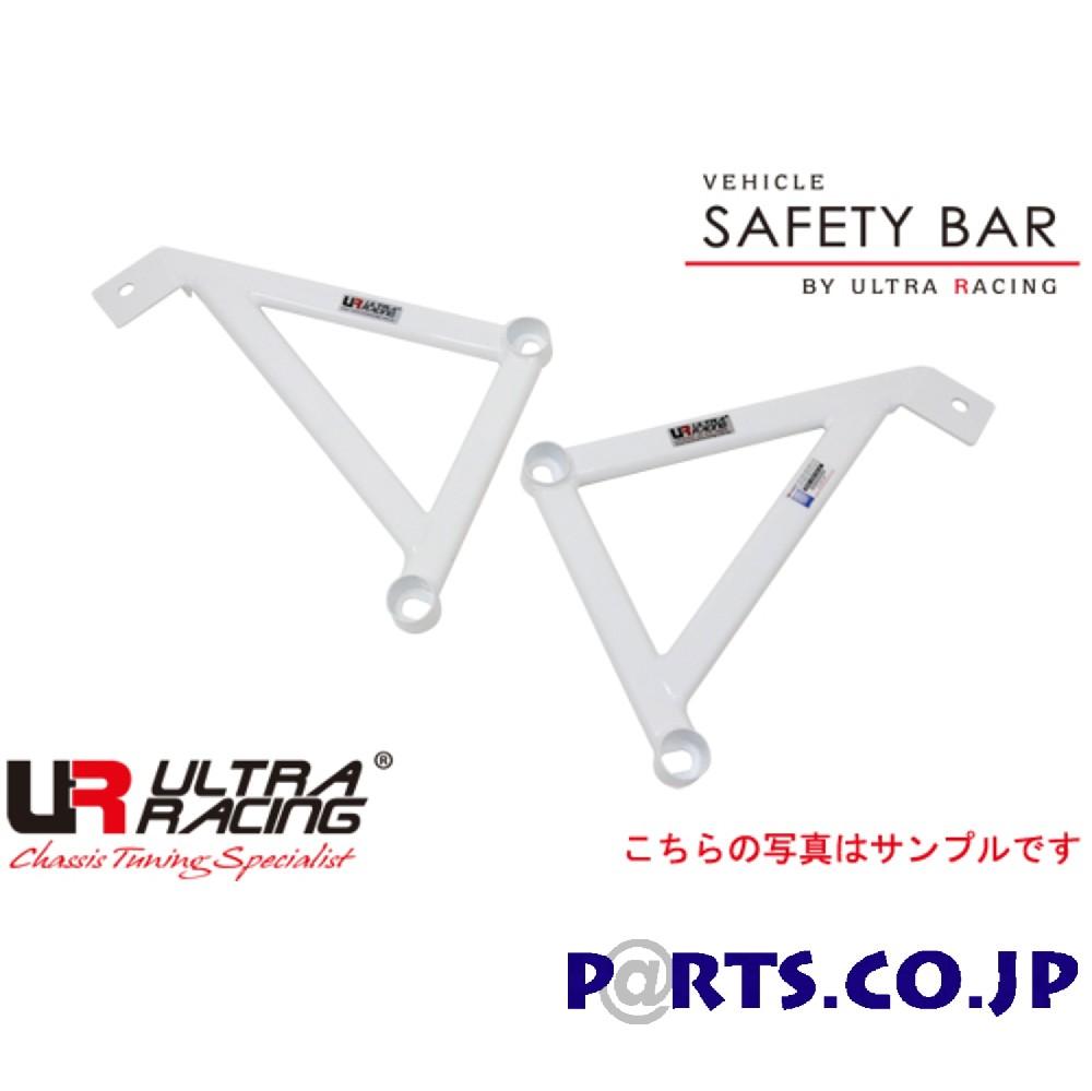 ウルトラレーシング フロントメンバーサイドブレース LAS61446P ボディ 補強 NISSAN スカイライン HV37 14/02~