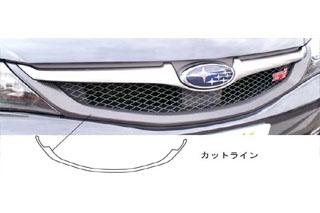 スバル インプレッサ マジカルカーボン フロントグリル シルバー GRB インプレッサWRX-STi(2007/6~)