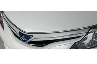 トヨタ エスティマ マジカルカーボン フロントグリル レッド AHR-20W エスティマハイブリッド(2008/12~)