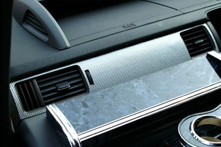ホンダ ステップワゴン マジカルカーボン インナーパネル ガンメタ RG1~4 ステップワゴン(2005/5~2009/10)