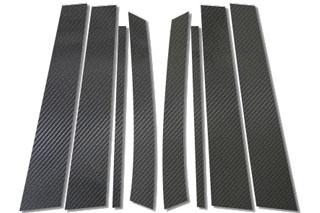 メルセデス・ベンツ CLクラス マジカルカーボン ピラーセット ブラック W204 Cクラス ワゴン メルセデス・ベンツ(2008/4~)