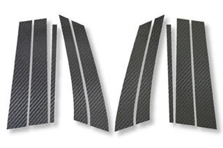 メルセデス・ベンツ Cクラスステーションワゴン マジカルカーボン ピラーセット マットブラック W203 Cクラス ワゴン メルセデス・ベンツ(2001/6~)