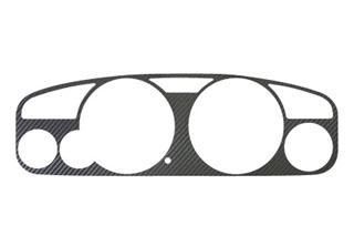 日産 スカイライン マジカルカーボン メーターパネル MT専用 レッド BCN/ECR/HR30系 スカイラインR33(1993/8~1997/2)