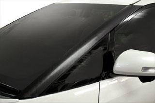トヨタ エスティマ マジカルカーボン ピラー左右セット ブラック ACR/GSR 50系 エスティマ(2006/1~2015/5)