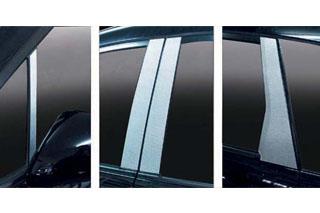 ホンダ ストリーム マジカルカーボン ピラーセット シルバー RN6~9 ストリーム(2006/7~2009/5)