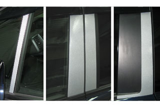 ホンダ フリード マジカルカーボン ピラーセット スタンダードタイプ ガンメタ GB3/4 フリード(2008/5~)