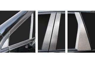 ホンダ オデッセイ マジカルカーボン ピラーセット バイザーカットタイプ ブラック RB3/4 オデッセイ M/アブソルート(2008/10~)