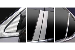 レクサス LS マジカルカーボン ピラーセット ガンメタ USF40系 LS460 レクサス(2006/9~)