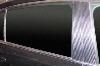 レクサス GS マジカルカーボン ピラーセット ガンメタ UZS190 GS430 レクサス(2005/7~)