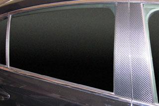 レクサス GS マジカルカーボン ピラーセット ピンク GWS191 GS450 レクサス(2006/3~)