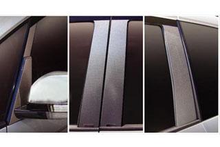 三菱 デリカD:5 マジカルカーボン ピラーセット スタンダードタイプ マットブラック CV5W デリカD5(2007/1~)