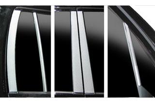三菱 トッポ/BJ マジカルカーボン ピラーセット マットブラック H82A トッポ(2008/9~)