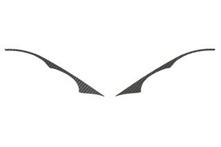三菱 コルト マジカルカーボン アイライン ブラック Z23/24/27W コルトプラス(2004/10~)