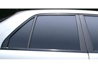 日産 スカイライン マジカルカーボン ピラーセット レッド ER34 スカイライン4D(1998/5~2000/8)