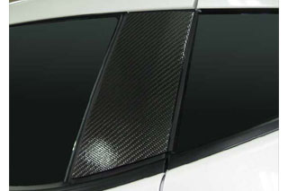 日産 フェアレディZ マジカルカーボン ピラーセット マットブラック Z34 フェアレディーZ(2008/12~)