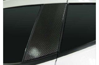 日産 フェアレディZ マジカルカーボン ピラーセット シルバー Z34 フェアレディーZ(2008/12~)