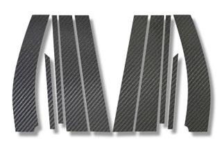 スズキ ワゴンR マジカルカーボン ピラーセット マットブラック MH23S ワゴンR(2008/9~)