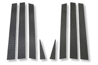 トヨタ エスティマ マジカルカーボン ピラーセット スタンダードタイプ ブラック ACR30系 エスティマ(2000/1~2005/12)