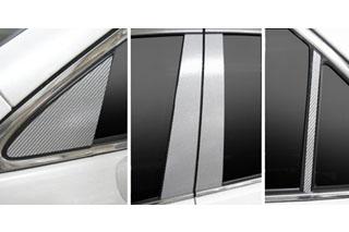 トヨタ クラウン マジカルカーボン ピラーセット ブルー GRS200系 クラウン(2008/2~)
