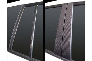 トヨタ ランドクルーザー マジカルカーボン ピラーセット ブラック UZJ200系 ランドクルーザー(2007/9~)