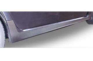 スバル インプレッサ マジカルカーボン サイドエアダム シルバー GRB インプレッサWRX-STi(2007/6~2011/1)