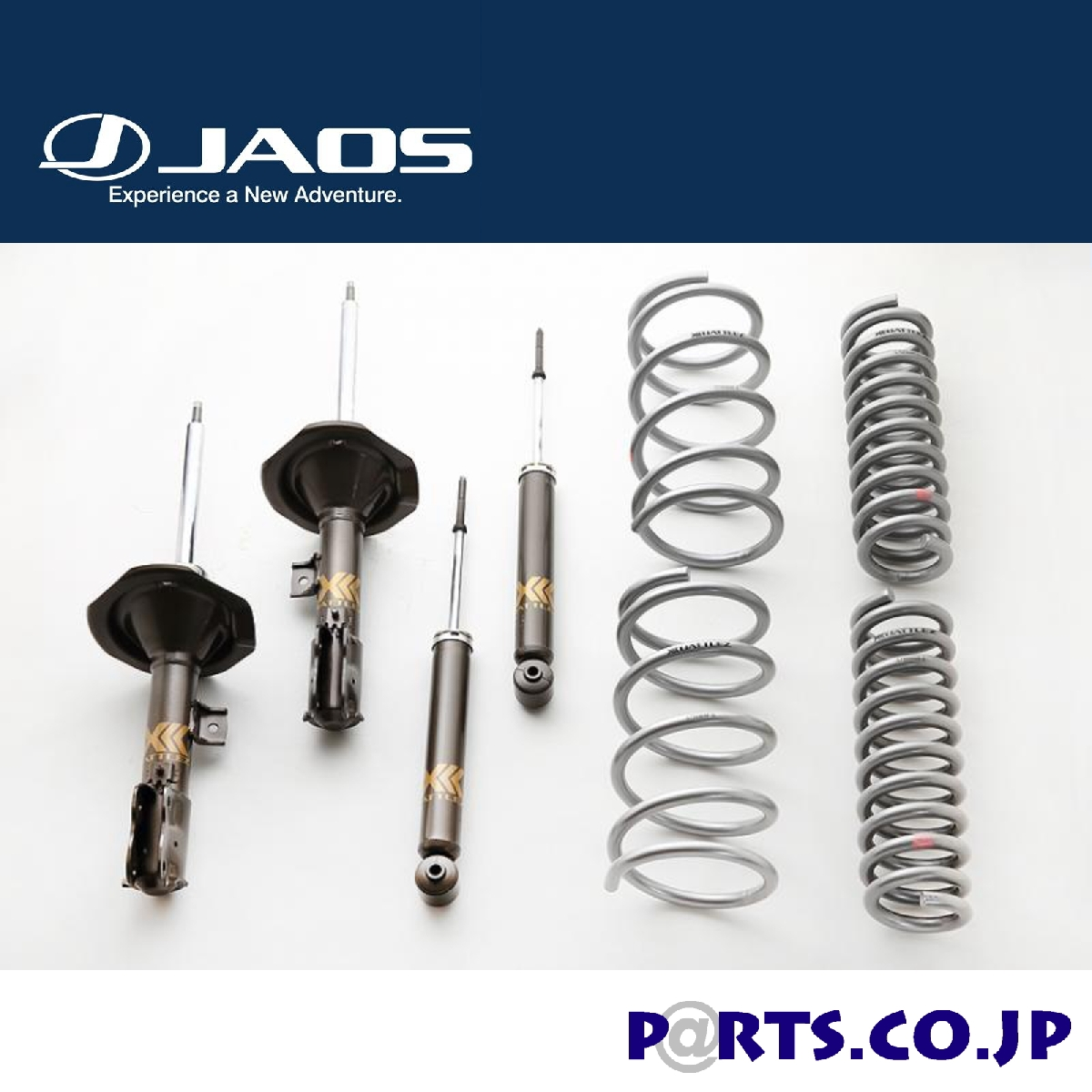 JAOS(ジャオス) 三菱 デリカD:5 スプリング&ショックセット BATTLEZ UP SUSPENSION SET VFS DELICA D:5 07-12 4WD