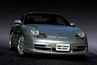 ARK TECH(アークテック) GT3後期RSタイプフロントバンパー 97-01 ポルシェ 996 前期型 / 986 ボクスター