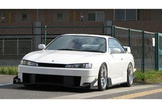 URAS(ユーラス) TYPE-GT(FRP) S14 シルビア 後期 サイドステップ