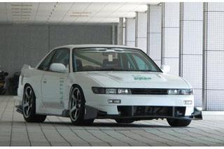 URAS(ユーラス) TYPE-GT(FRP) S13 シルビア フロント/サイド/リア 3点セット