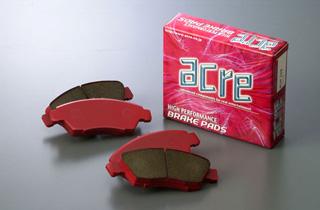 ブレーキ パッド 【送料無料】ACRE(アクレ)ブレーキ パッド ライトスポーツ フロント用 07.3~ FD2 シビック タイプ-R