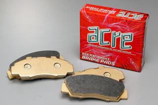 ブレーキ パッド 【送料無料】ACRE(アクレ)ブレーキ パッド ダストレス・リアル フロント用 07.12~ R35 GT-R