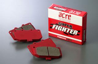 ブレーキ パッド 送料無料 ACRE(アクレ)アクレ スーパーファイター 前後セット ZZE123 アレックス