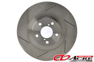ブレーキ ローター 【送料無料】ACRE(アクレ)スリットローター フロント用 88.05~90.03 HA1/2 アクティ