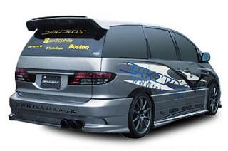 Takeros(タケローズ) トヨタ エスティマ リアスポイラー タケローズ ACR/MCR エスティマ リアスポイラー VOL.3
