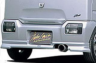 Takeros(タケローズ) スズキ ワゴンR リアスポイラー タケローズ CT ワゴンR リアハーフスポイラー