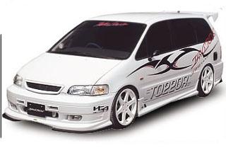 Takeros(タケローズ) ホンダ オデッセイ フロントスポイラー タケローズ RA1~4 オデッセイ フロントバンパースポイラーVOL.1
