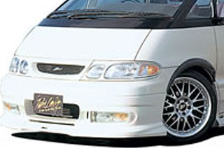 Takeros(タケローズ) トヨタ エスティマ・ルシーダ グリル タケローズ TCR/CXR エミーナ/ルシーダ後期 フロントグリル