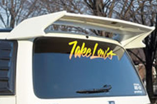 Takeros(タケローズ) 日産 ステージア ウイング タケローズ C34 ステージア リアウィング VOL.1