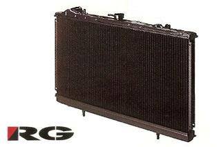 RACING GEAR パワーラヂエター TYPE-C2(銅2層)N1レース用全面タイプ EK4/9 シビック M/T車 (B16A)
