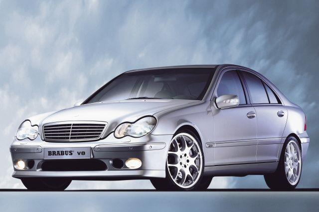 BRABUS体育排气(4汽缸)01-UP M奔驰W203 C等级