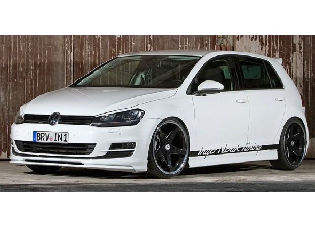 IngoNoak Ingo Noak フロントリップスポイラー for VW Golf7 TSI/Golf7 Variant TSI