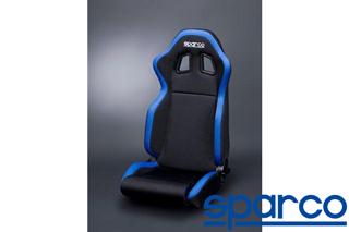 Sparco R100 Black//Blue Seat