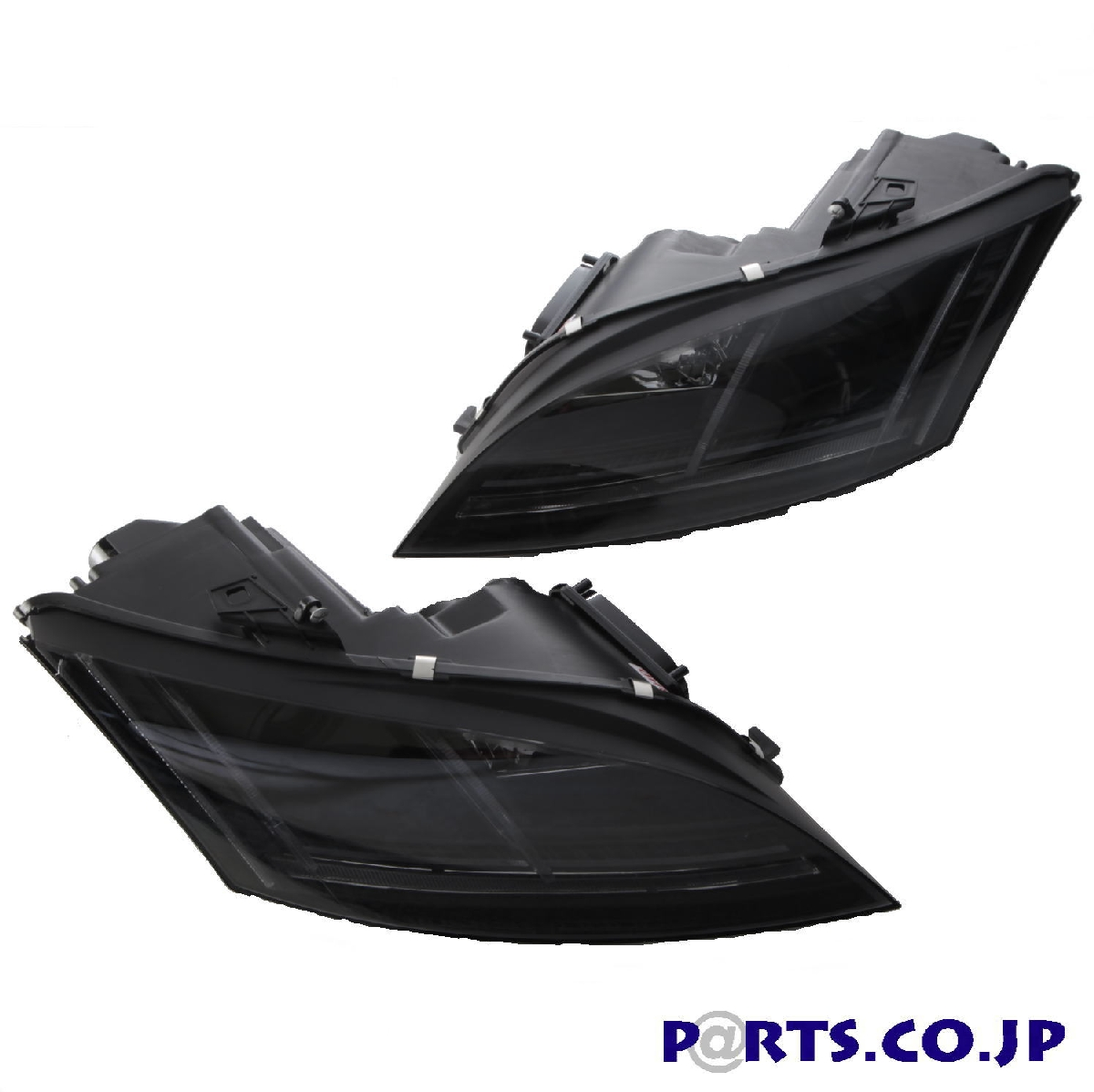 SONAR(ソナー) DRLプロジェクターヘッドライトブラックシーケンシャルアウディTT 06-13