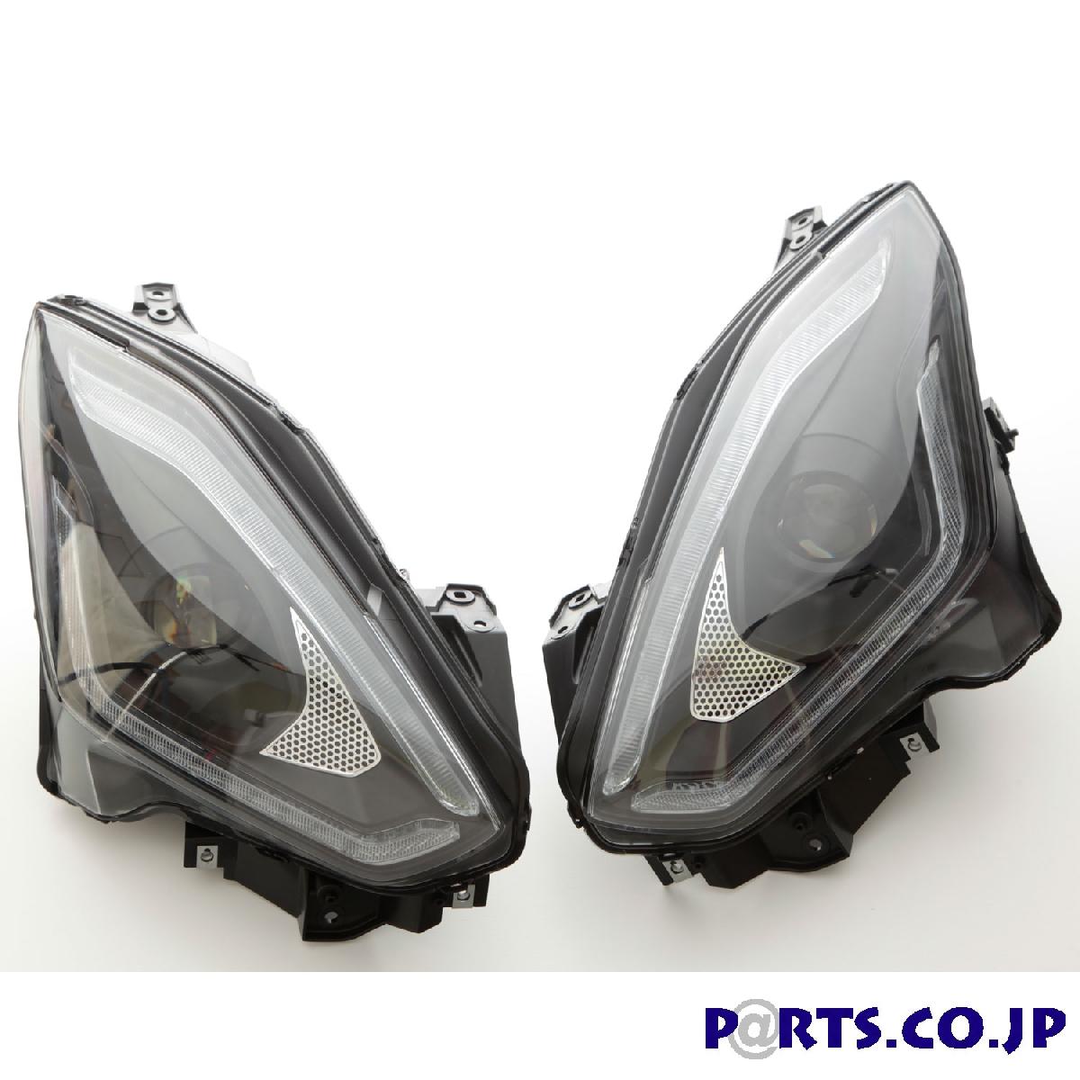 SONAR(ソナー) DRLスタイル プロジェクターヘッドライト ブラック シーケンシャルウィンカー スイフト ZC83S ZD83S 純正ハロゲン車