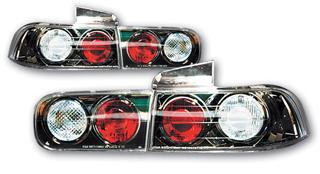 安心の実績 高価 買取 強化中 SONAR ソナー テールライト ホンダ インテグラ ユーロ テール ランプ 8 DB6 クリスタル インナー 4ドア レンズ ブラック 正規品