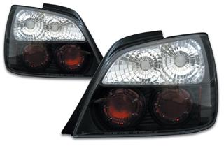 ブラック インプレッサ ユーロ 前期 SONAR(ソナー) ランプ テールライト クリスタル スバル インナー GD インプレッサ テール 4ドア レンズ